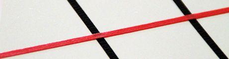 Whiteboard matrix tape