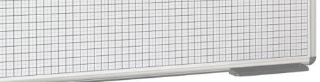 Whiteboard grid 5x5 cm